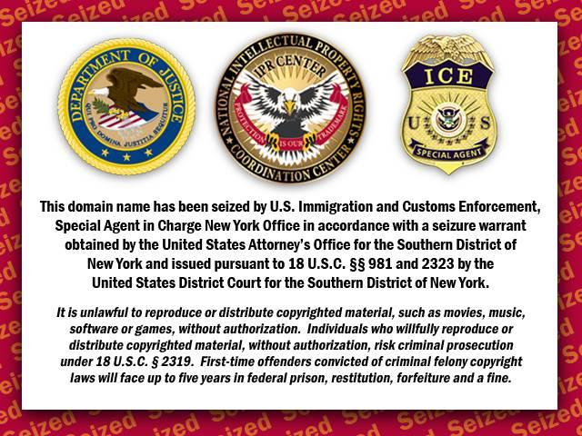 Usa: pugno di ferro contro la pirateria on-line, chiusi 70 siti