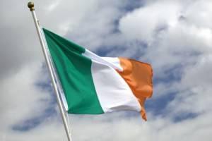 La bandiera irlandese