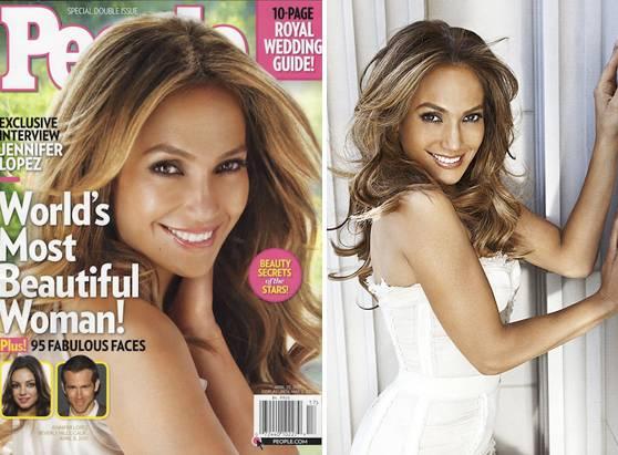 """Jennifer Lopez eletta da """"People"""" celebrità più sexy dell'anno"""
