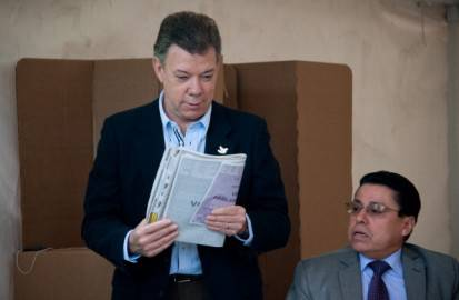 Juan Manuel Santos, presidente Colobia (Getty images)