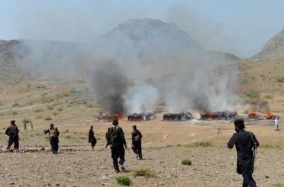 Polizia pakistana intervenuta in un attacco nell'area di Khyber Agency (Getty images)