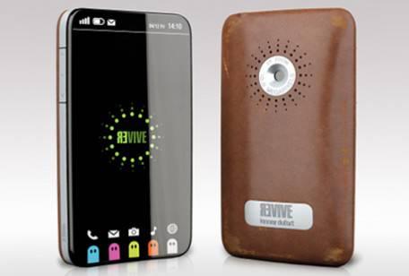 """CELLULARI DEL FUTURO / Prototipo di uno Smartphone, ecco il """"Kinneir Dufort Revive"""""""