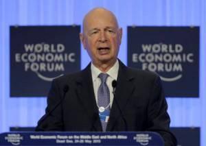 Klaus Schwab, presidente del World Forum Economic (Getty images)