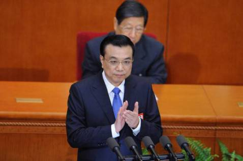 Il premier cinese Li Keqiang (WANG ZHAO/AFP/Getty Images)