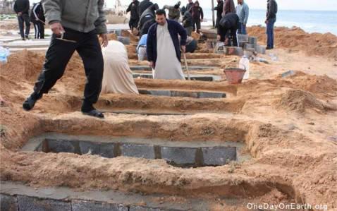 Libia ritrovamento corpi