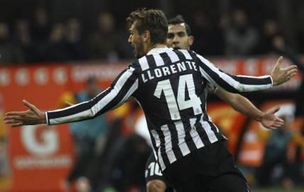 Llorente segna al Milan