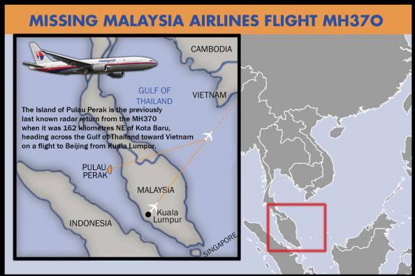 """Aereo scomparso, Malesia: radar dell'aereonautica thailandese hanno intercettato un velivolo """"non identificato"""""""