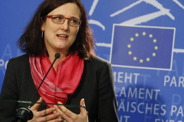 """Immigrazione, Malmstrom: """"L'Ue non può abbandonare i Paesi che affrontano l'emergenza"""""""