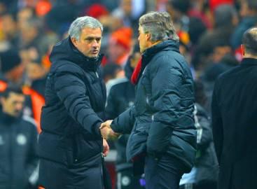 Mancini Mourinho (getty images)
