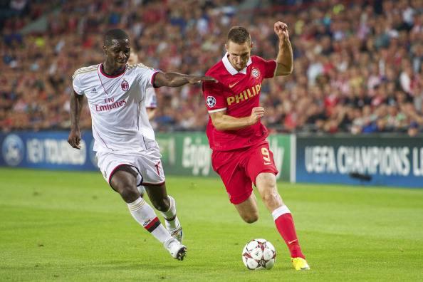 Psv Eindhoven – Milan 1-1:  El Shaarawy, un gol per la Champions