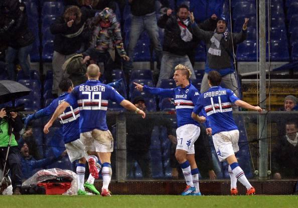 Genoa – Sampdoria 0-1: Maxi Lopez si prende la Lanterna