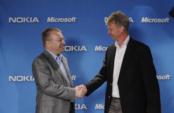 Alleanza Nokia-Microsoft per contrastare Google e Apple
