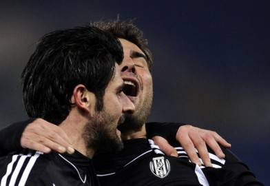 Mutu e Iaquinta1 392x270 Serie A, 29a giornata: Cesena   Parma 2 2 pagelle e tabellino