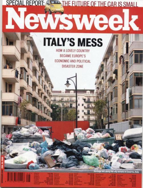 Istat: in Italia si produce il doppio di rifiuti urbani rispetto alla media europea