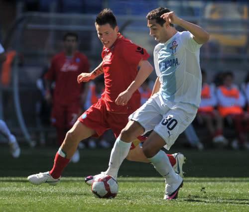 Palermo Lazio live: bianocelesti in vantaggio nel primo tempo
