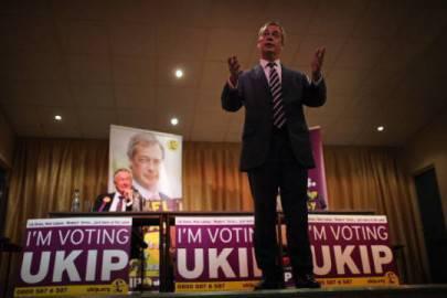 Nigel Farage, leader del Ukip (Foto: Christopher Furlong/Getty Images)
