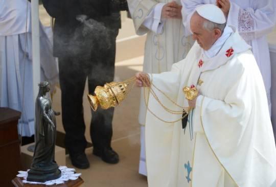 Il Papa celebrerà una messa nella Chiesa dell'Ordine degli Agostiniani a Roma
