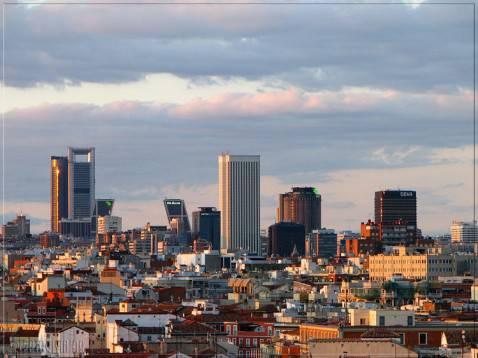 Una veduta di Madrid