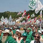 Pontida: diretta live orario raduno Lega Nord e discorso Bossi. 19 giugno 2011, 21 anni dopo il popolo leghista col Senatur
