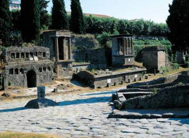 Pompei, Porta Nocera (Getty Images)