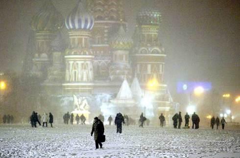 Maltempo in Russia: freddo e neve causano sei morti a Mosca