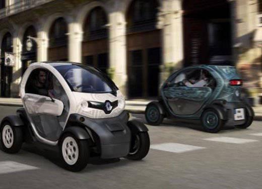 Renault Twizi Renault Twizi: l'elettrica del futuro