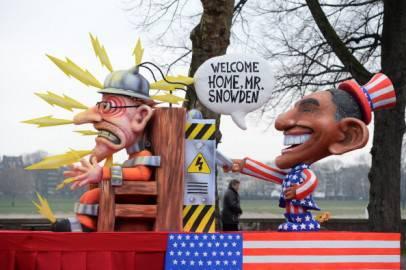Parata di Carnevale Rose Monday a Duesseldorf, Germania (Getty images)