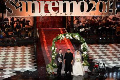 Sanremo 2014 (getty images)