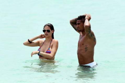Melissa Satta and Kevin-Prince Boateng (Getty Images)
