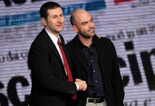 """""""Vieni via con me"""" vince contro """"Grande fratello 11. Benigni, Fazio e Saviano battono la Marcuzzi"""