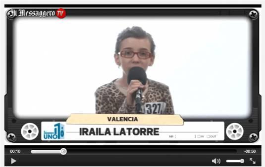 Annuncio tragico della famiglia di Iraila La Torre la bimba che commosse tutti a The Voice Kids