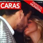 Shakira e Gerard Piqué: il primo bacio pubblico