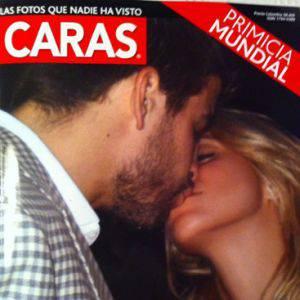 Shakira e Gerard Piqué bacio Shakira e Gerard Piqué: il primo bacio pubblico
