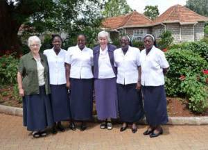 suore irlandesi in Kenya