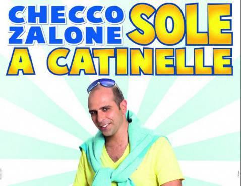 """Checco Zalone nella locandina di """"Sole a catinelle"""""""