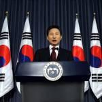 Il presidente della Corea del Sud si dichiara pronto a parlare con il Nord