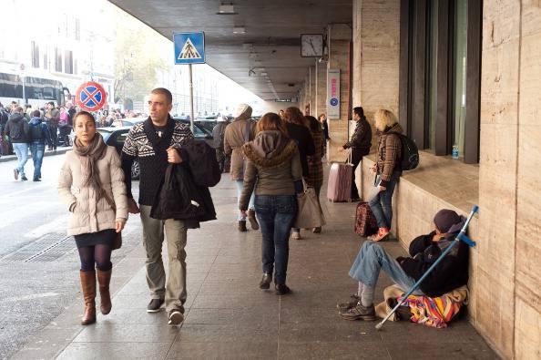 Roma, caos a Termini per un nubifragio: chiusa la metro A