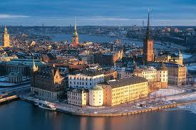 Una veduta di Stoccolma