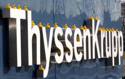 ThyssenKrupp (getty images)
