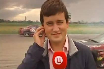 Reporter investito da un'auto durante la diretta (video LiveLeak)