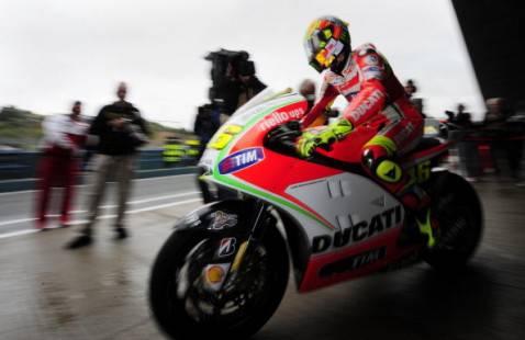 MotoGp 2012 Le Mans: Pole Position per Dani Pedrosa. Settimo Valentino Rossi
