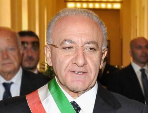 Vincenzo De Luca (foto Presidenza della Repubblica)