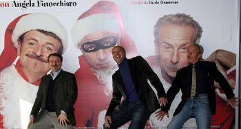 """Da venerdì 17 dicembre nei cinema il nuovo film di Aldo, Giovanni e Giacomo """"La banda dei Babbi Natale"""""""