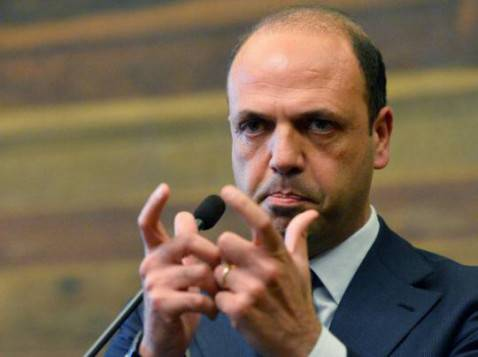 Angelino Alfano (VINCENZO PINTO/AFP/Getty Images)