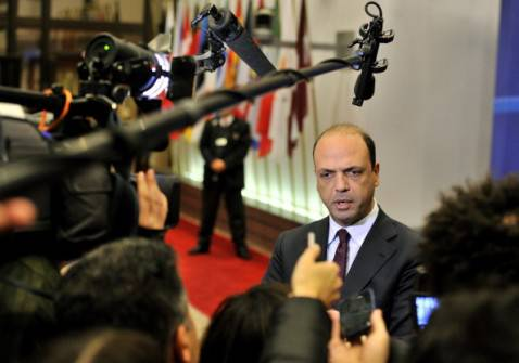 Angelino Alfano (Georges Gobet/Afp/Getty Images)