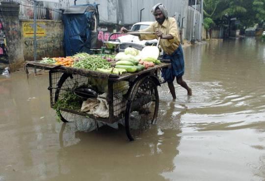 India del Sud: allerta per l'arrivo di un ciclone