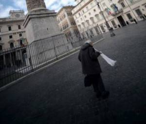 Piazza Colonna Roma (Filippo Monteforte/Afp/ Getty images)
