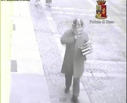 Il presunto omicida di Alberto Musy nel video della Polizia