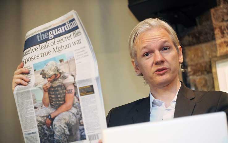 Arriva in libreria l'autobiografia non autorizzata di Julian Assange