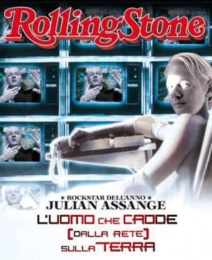 Rolling Stone Italia: Julian Assange come David Bowie: E' lui la rockstar del 2010